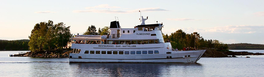 MS Medvind. Foto: Visit Sundsvall